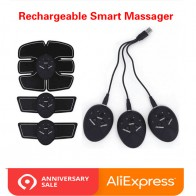 US $4.29 30% OFF|Rechargeable Abdominal Muscle Trainer Stimulator Fitness Gym Equipment For training apparatus Leg Arm Muscle Exerciser Slimming -in Ab Rollers from Sports & Entertainment on Aliexpress.com | Alibaba Group