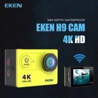 2147.17 руб. 25% СКИДКА|Новое поступление! Оригинал екеn H9R/H9 Ultra HD 4 K Экшн камера 30 м водонепроницаемый 2,0