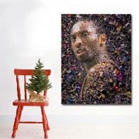 Hotsell Wall Art Kobe Bryant Basketball Star Portrait Painting Printed On Canvas Art Print Posters For Living Room Home Decor-in Painting & Calligraphy from Home & Garden on AliExpress