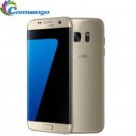 18261.59 руб. 23% СКИДКА|Оригинальный разблокирована samsung Galaxy S7 край G935F/G935V 4G B Оперативная память 32 ГБ Встроенная память смартфон 5,5