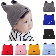 € 1.79 12% de DESCUENTO|Recién llegados sombrero de invierno niños niñas y niño Oso de dibujos animados cálido sombrero de punto de ganchillo gorro sombrero casquette enfant festival touca-in Sombreros y gorras from Madre y niños on Aliexpress.com | Alibaba Group
