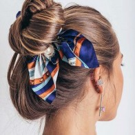 Новинка года; шифоновые эластичные резинки для волос с бантом для женщин и девочек; резинки для волос с жемчугом; повязка на голову; резинки ...