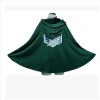 US $7.1 30% OFF|Fashion Anime no Kyojin Cloak Cape Clothes Cosplay Costume Fantasia Attack on Titan Plus Free shipping-in Anime Costumes from Novelty & Special Use on Aliexpress.com | Alibaba Group
