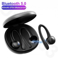 T7 Pro TWS 5,0, беспроводные Bluetooth наушники, Hi-Fi стерео беспроводные наушники, Спортивная гарнитура с зарядным устройством для iOS и Android