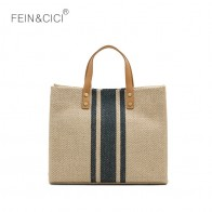US $16.38 9% OFF Large shopper bag jumbo canvas totes beach bag BIG shoulder bag summer striped casual totes 2019 brand wholesale -in Top-Handle Bags from Luggage & Bags on Aliexpress.com   Alibaba Group