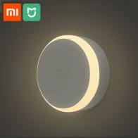 Новый светодиодный ночник Xiaomi Mijia, индукционный ночник с сенсорным выключателем, энергосберегающий умный дом - المنزل الذكي