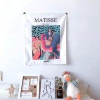Художественный гобелен Matisse, Настенный декор, маленький размер, настенная ткань, декор для комнаты в общежитии, современное искусство, сканд... - Гобелены с Алиэкспресс