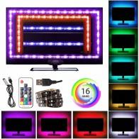 58.86 руб. 36% СКИДКА|2835 лента RGB USB Светодиодные ленты Light 5050 USB Тира светодиодный 5 V гибкий неон RGB ленты СВЕТОДИОД огни ТВ Подсветка фонового освещения-in Светодиодные ленты from Лампы и освещение on Aliexpress.com | Alibaba Group