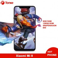 "US $362.99 |Original Global Firmware Xiaomi Mi8 Mi 8 6GB RAM 128GB ROM Snapdragon 845 Octa Core 6.21"" 18.7:9 Full Screen 20MP Front Camera -in Mobile Phones from Cellphones & Telecommunications on Aliexpress.com 