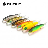 US $2.13 24% OFF|OUTKIT 1pcs 8.8cm 8g Jointed Minnow Bait Soft Tail Fishing Lure Artificial Bait Fishing Tackle Swim Hard Bait Wobblers Crankbait-in Fishing Lures from Sports & Entertainment on Aliexpress.com | Alibaba Group