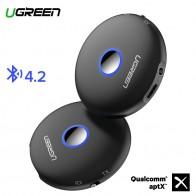 1720.43 руб. 28% СКИДКА|Ugreen Bluetooth 4,2 передатчик приемник aptX адаптер 3,5 мм разъем аудио для наушники для телевизора PC музыкальный рецептор AUX Bluetooth 3,5 мм купить на AliExpress