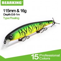 US $4.61 28% OFF|Bearking 11.5cm 16g hot professional quality fishing lure,wobblers minnow crank crank bait excellent painting free shipping-in Fishing Lures from Sports & Entertainment on Aliexpress.com | Alibaba Group