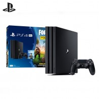 Sony PlayStation 4 Pro (1Tb) Black (CUH 7208В) + Ваучер «Fortnite»-in Игровые консоли from Бытовая электроника on Aliexpress.com | Alibaba Group