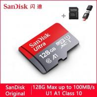 169.73руб. 53% СКИДКА|Sandisk Ultra Micro SD 128 ГБ 32 ГБ 64 Гб 256 Гб 16 Гб 400 Гб Micro SD карта SD/TF флэш карты памяти 32 64 128 Гб microSD для телефона-in Карты памяти from Компьютер и офис on AliExpress