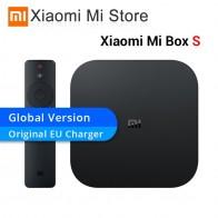 4053.56 руб. 10% СКИДКА|Оригинальная глобальная версия Xiaomi mi Box S Android 8,1 4 K четырехъядерный Smart tv Box 2 ГБ 8 ГБ HD mi 2,4G 5,8G WiFi Mali 450 1000Mbp-in ТВ-приставки from Бытовая электроника on Aliexpress.com | Alibaba Group