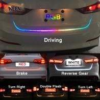 634.29 руб. 11% СКИДКА|OKEEN 47,6 дюйм RGB красочный струящийся светодиодный багажник полосы для багажника автомобиля динамический мигалки Светодиодная лампа указателя поворота светодиодная сигнальная лампа DRL свет-in Аксессуары для автомобильного освещения from Автомобили и мотоциклы on Aliexpress.com | Alibaba Group