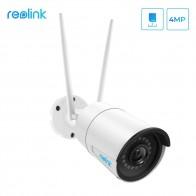 4090.76 руб. 37% СКИДКА|Камера Reolink WiFi 4MP Беспроводная ip камера наружная 2,4G/5G ip камера с разрешением HD Пуля наблюдения Всепогодная защита Cam RLC 410W 4MP-in Камеры видеонаблюдения from Безопасность и защита on Aliexpress.com | Alibaba Group