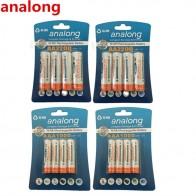 488.59 руб. |AnalВ ong 2200 V 1,2 мАч AA аккумуляторная батарея + и 1000 мАч AAA перезаряжаемые батареи купить на AliExpress