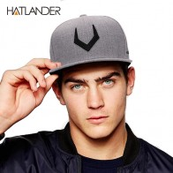 US $7.34 32% OFF|High quality grey wool snapback  3D pierced embroidery hip hop cap flat bill baseball cap for men and women-in Men