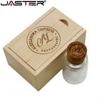US $4.16 20% OFF|JASTER promotion laser engraving 64GB External Storage drifting bottle usb+box usb 2.0 32GB 16GB 8GB 4GB thumb drive -in USB Flash Drives from Computer & Office on Aliexpress.com | Alibaba Group