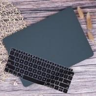 Светящийся зеленый матовый мягкий сенсорный чехол для ноутбука MacBook Air Pro Retina 11 12 13 15 дюймов 2019 A2159 A1932 чехол с клавиатурой