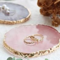 Полимерная витрина для ювелирных изделий, ожерелье, кольцо, серьги, дисплей, окрашенная палитра, лоток, ювелирный держатель, органайзер, укр... - Хранение украшений