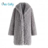 2802.99 руб. 26% СКИДКА|Лиза колли искусственный мех женские пальто из искусственного меха женская куртка из овчины женские зимние толстые меховые пальто женские длинные пиджаки-in Искусственный мех from Женская одежда on Aliexpress.com | Alibaba Group