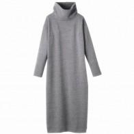 1275.57 руб. |2019 женское осенне зимнее платье свитер с высоким воротником, сексуальное облегающее длинное уплотненное теплое платье, плюс размер, платье S 5XL 6XL vestidos-in Платья from Женская одежда on Aliexpress.com | Alibaba Group