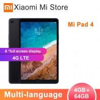 11432.06 руб. 20% СКИДКА|Многоязычная Xiaomi mi Pad 4 таблетки 4 Snapdragon 660 AIE 8