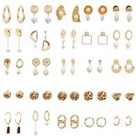 42.51 руб. 45% СКИДКА|Металлические длинные висячие серьги с искусственным жемчугом для женщин, серьги капли, золотые, серебряные цвета, модные ювелирные изделия-in Серьги-капельки from Украшения и аксессуары on Aliexpress.com | Alibaba Group