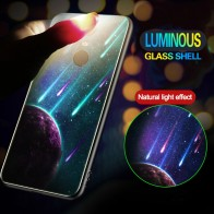 US $2.55 36% OFF|Luminous Tempered Glass Case For Xiaomi Mix3 Mi9 Mi8SE A2 Lite Redmi 6A 6 Pro 5 Plus Note 7 5Pro Note 4X Night Shine Glass Cover-in Fitted Cases from Cellphones & Telecommunications on Aliexpress.com | Alibaba Group