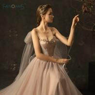 22199.59 руб. |Элегантные свадебные платья 2018 трапециевидные лямки длинное свадебное платье из бисера кружевное свадебное платье Vestido de Novia WN22 купить на AliExpress
