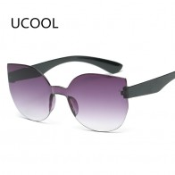 US $2.99 40% OFF|UCOOL 2018 Fashion Square Rimless Sunglasses Women Vintage Brand Designer Coating Sun Glasses UV400 -in Sunglasses from Mother & Kids on Aliexpress.com | Alibaba Group