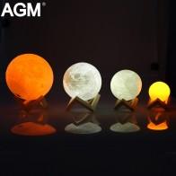 999.98 руб. |AGM свет в ночь Луна лампы 3D принт лунный свет Luna touch 2 цвета Сменные сенсорный Сенсор ночник для подарок для ребенка Домашний Декор-in Ночники from Лампы и освещение on Aliexpress.com | Alibaba Group