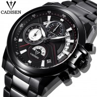 US $25.99 80% OFF|CADISEN Fashion Sport Men Watches Military Waterproof Watch Brand Luxury Steel Quartz Business Male WristWatch Relogio Masculino-in Quartz Watches from Watches on Aliexpress.com | Alibaba Group