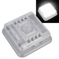 Светодио дный светодиодный датчик движения беспроводной инфракрасный домашний Закрытый Открытый PIR автоматический датчик движения светодио дный детектор Светодиодный Ночник Лампа купить на AliExpress