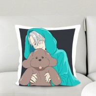 US $8.99 |Oct. New Home Textile 2WT 2way Square Pillow Case Yuri On Ice Anime Victor Nikiforov & Makkachin One sided Two sided #41036B-in Pillow Case from Home & Garden on Aliexpress.com | Alibaba Group