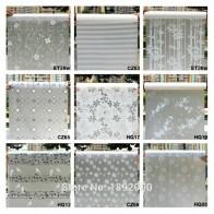 Широкий 45 см * длинный см 100 см матовое непрозрачное стекло оконная пленка для окна уединение Клей Стекло наклейки домашний декор смешанный цвет спальня купить на AliExpress
