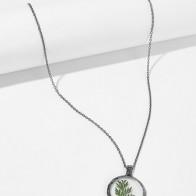 Ожерелье с круглым кулоном 1 шт.