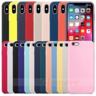 101.29 руб. 15% СКИДКА|Есть логотип оригинальный силиконовый чехол для iPhone 7 8 чехол для iPhone X XR XS Max Официальный чехол для iPhone 6 6S Plus 5 5S Капа купить на AliExpress