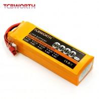 TCBWORTH RC Lipo батарея 11,1 В 6000 мАч 30C Max 60C 3 s для RC Самолет Дрон автомобиль 3 s батареи LiPo Cell Заводская розетка батарея купить на AliExpress