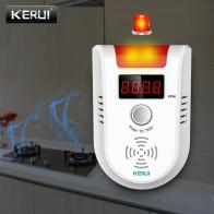 1309.73 руб. 15% СКИДКА|KERUI GD13 LPG газовый сигнализатор беспроводной цифровой светодиодный дисплей детектор природного утечки горючих газов для системы домашней сигнализации-in Сенсор и детектор from Безопасность и защита on Aliexpress.com | Alibaba Group