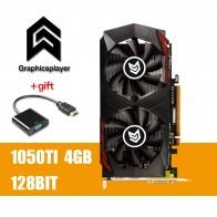 9396.65 руб. 35% СКИДКА|Графика карта PCI E GTX1050TI, объемом памяти 4 Гб/4096 МБ DDR5 128Bit плата видео graphique видеокарта Nvidia-in Графические карты from Компьютер и офис on Aliexpress.com | Alibaba Group