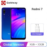 US $122.99 |Global Version Original Xiaomi Redmi 7 3GB 32GB Smartphone Snapdragon 632 Octa Core 4000mAh Battery 12MP 6.26