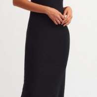 Женское платье Dilvin ME-101A02776_Siyah - платье на новый год