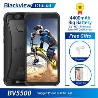 US $89.99 10% OFF|Blackview BV5500 IP68 Waterproof Mobile Phone MTK6580P 2GB+16GB 5.5
