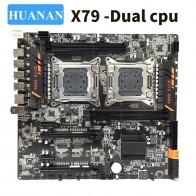 12471.53 руб. |HUANAN huananzhi X79 двойной Процессор LGA2011 LGA 2011 материнская плата с двухъядерным процессором DDR3 купить на AliExpress