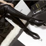 1488.29 руб. 31% СКИДКА|Женские сапоги выше колена с носком; женские осенне зимние сапоги на высоком каблуке; пикантные высокие сапоги до бедра; botas mujer-in Ботинки закрывающие колени from Туфли on Aliexpress.com | Alibaba Group