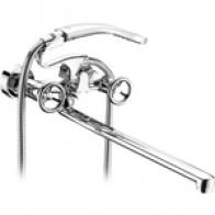 Смеситель для ванны Elghansa New Wave Sigma с душем, хром (2707595): купить недорого в интернет-магазине, низкие цены