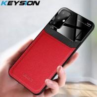 KEYSION противоударный чехол для Samsung S20 Plus S20 Ультра кожаный зеркальный чехол для телефона Galaxy A51 A71 M30S A50 A70 A30 S10 +